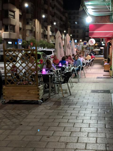 Terraza del Restaurante en el Centro de Valladolid