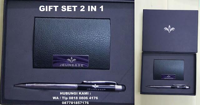 Giftset Promosi 2 in 1, Barang Promosi Gift Set 2 in 1 Pen Namecard, 2 in 1 Gift Sets, Gift Set 2 in 1 Tempat Kartu Nama Pulpen