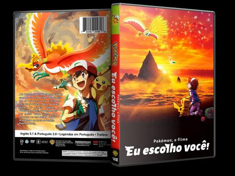 Capa DVD Pokémon, o Filme - Eu Escolho Você