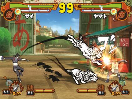 Naruto Shippuden Ultimate Ninja 5 Sai Character