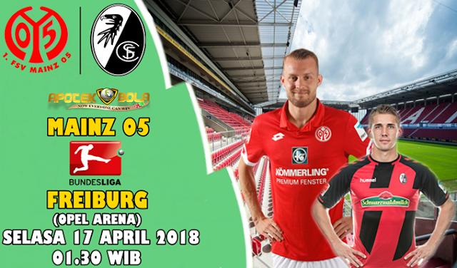 Prediksi Mainz 05 vs Freiburg 17 April 2018