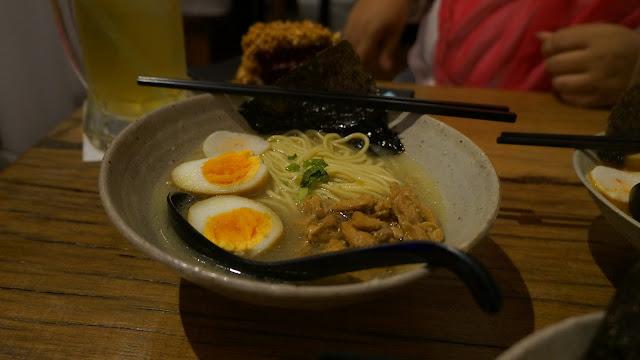 Beef Ramen Hangat di Mato Restoran Jepang