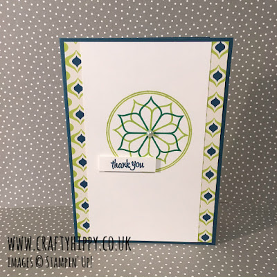 Make an Eastern Beauty Stampin' Up! card