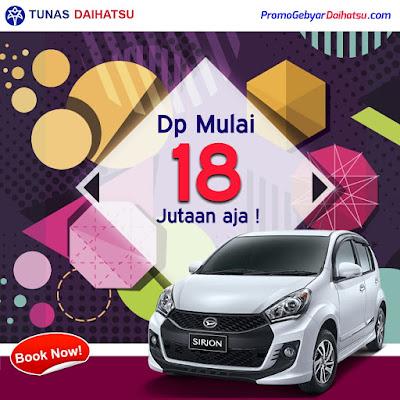 Promo Kredit Daihatsu Sirion September 2017 Jakarta Timur