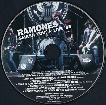 Ramones mania rar