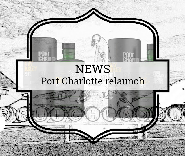 Bruichladdich gives its Port Charlotte brand a new look