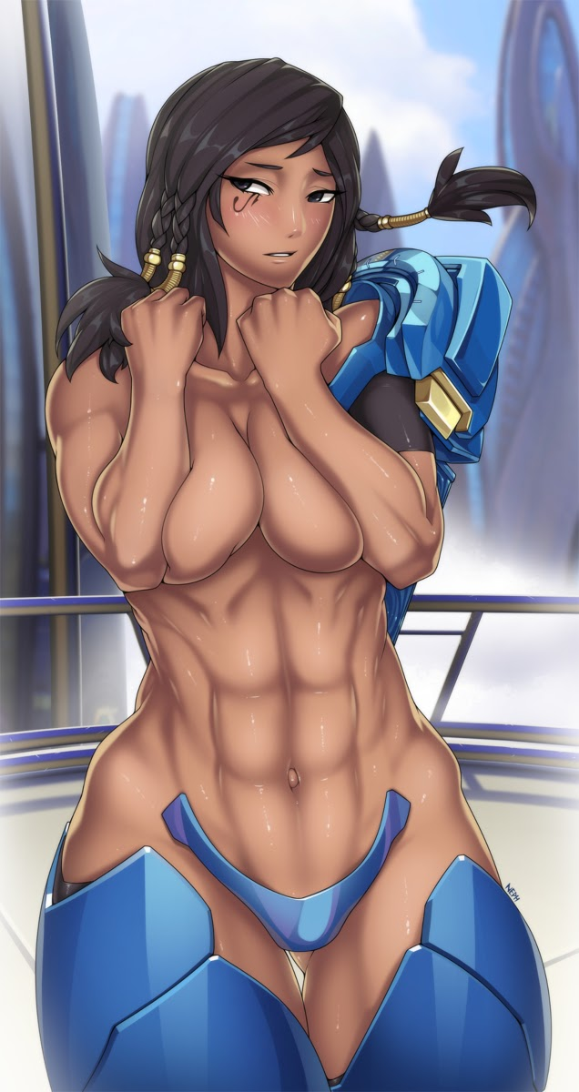 stetched pharah abs