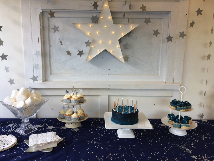 Starry Night Party dessert table