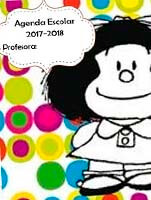 Agenda escolar de mafalda en formato power point