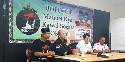 Alumni STM Boedoet Jakarta Deklarasi Dukungan untuk Jokowi Ma'ruf