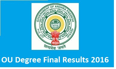 Manabadi Degree Results 2016, OU Degree 3rd year Results, OU Results 2016