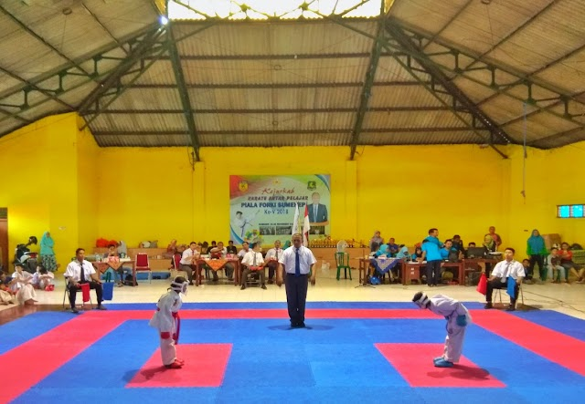 Kembangkan Prestasi Sedari Dini, Sumenep Adakan Kejurkab Karate Antar Pelajar Piala Forki Sumenep ke -V 2018