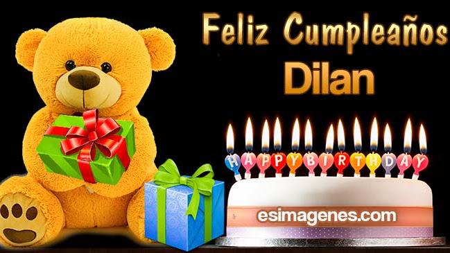 Feliz Cumpleaños Dilan