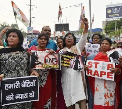 Stop rape protest India