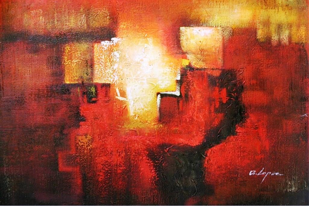 Cuadros modernos pinturas y dibujos galer a de - Fotos cuadros abstractos ...