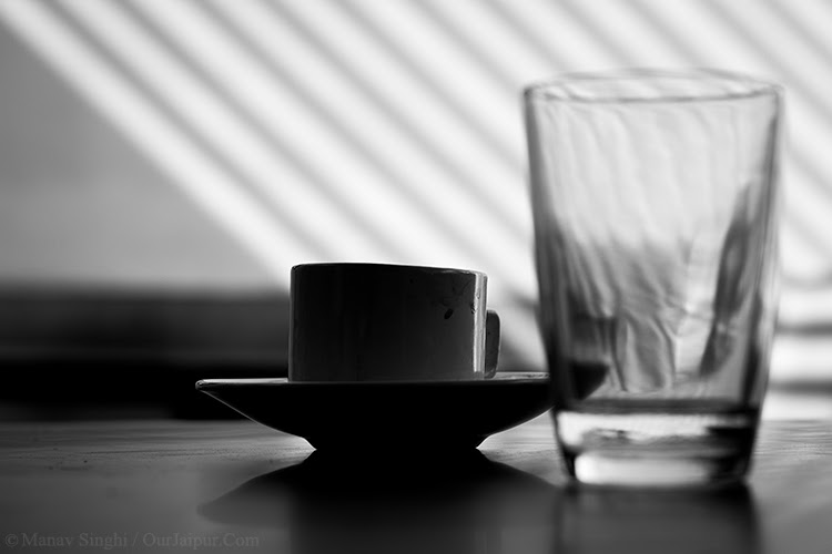 Still Life photography clicked at Indian Coffee House, Jawahar Kala Kendra, Jaipur.