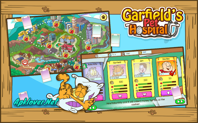 Garfield Pet Hospital MOD APK