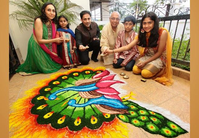 30 Best Rangoli Designs For This Diwali Festival