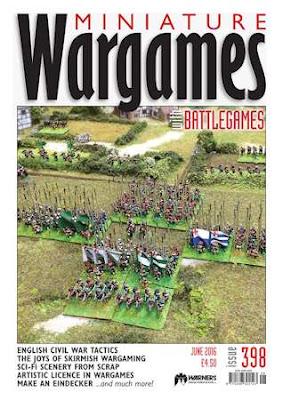Miniature Wargames 398, May 2016