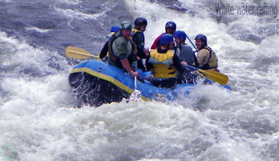 White-water rafting sport