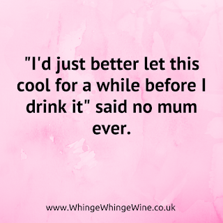 """""""I'd better just let this cool for a while before I drink it"""" said no mum ever"""