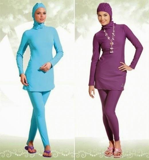 Gambar Baju Renang Muslim Terbaru 2015
