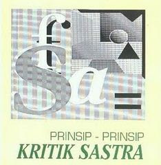 Prinsip Kritik Sastra dan Prinsip Esai Sastra
