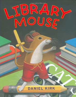 Library Mouse, part of children's book review list about mice