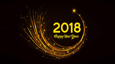 2018 Happy New Year HD Wallpaper Free Download