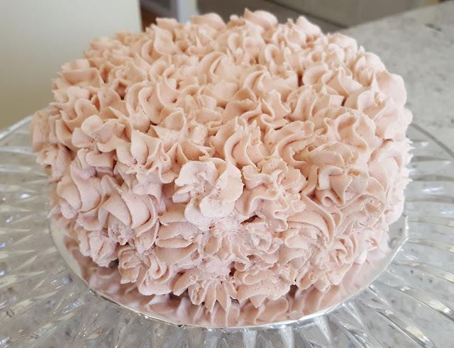 A Pretty Pink Smash Cake