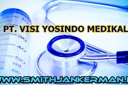 Lowongan PT. Visi Yosindo Medikal Pekanbaru Maret 2018