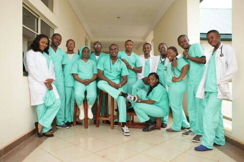 Nigerian medical students