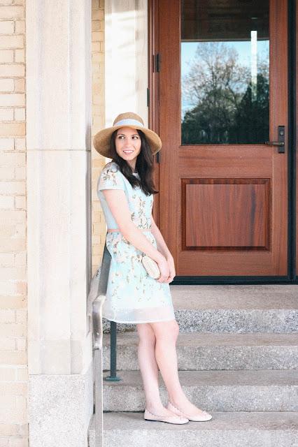 Chicwish Organza Dress Spring Style