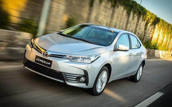 Toyota Corolla auto más vendido en 2017