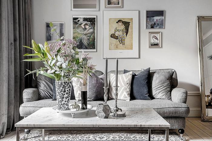Blog Decoracion piso de estilo nordico escandinavo con flores