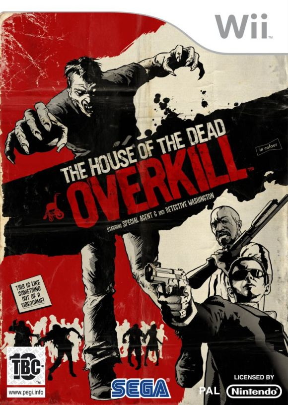 the house of the dead overkill - The House of the Dead: Overkill [Wii] [PAL] [Español] [CZ]