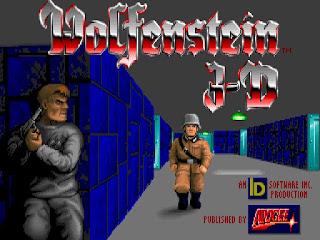 Wolfenstein 3D - pantalla de juego