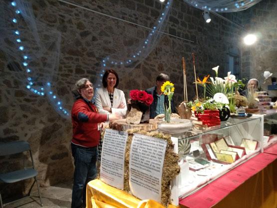 L'alcaldessa de Girona a La Plaquetona-Temps de Flors