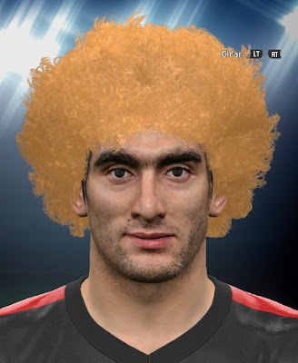 PES 2016 Fellaini New Euro 2016 Hair by CAILLU