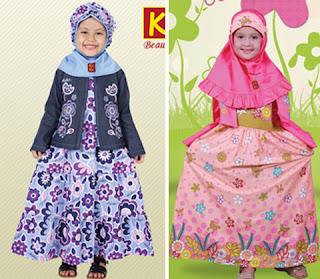 Baju Muslim Anak Perempuan Dannis Terbaru 2016