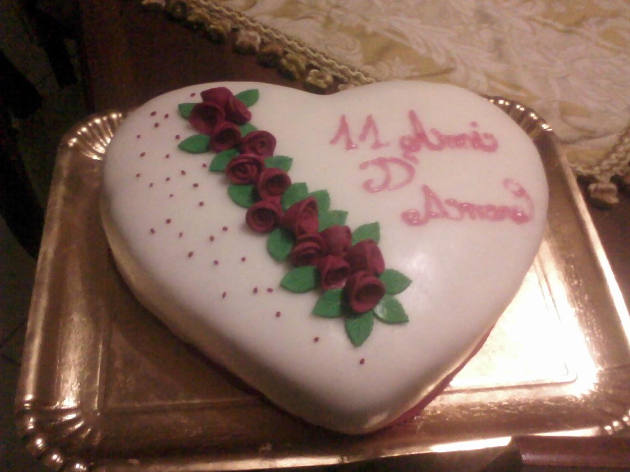Estremamente i dolci di anna: torta per anniversario di matrimonio!!!! FD48