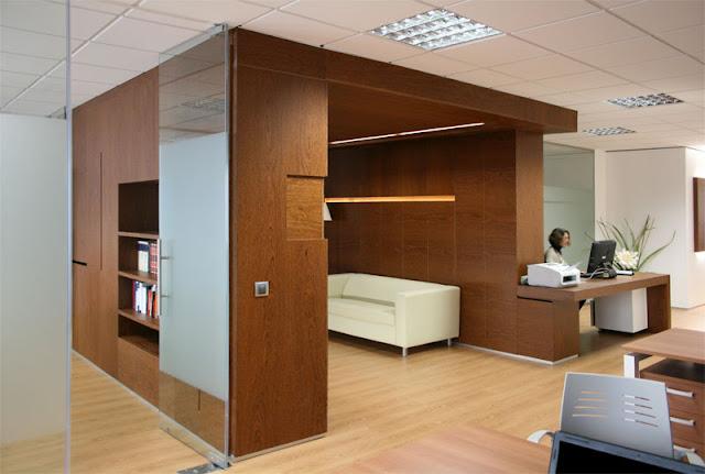 Reforma interior del despacho serrall abogados grupo for Diseno de oficinas modernas para abogados