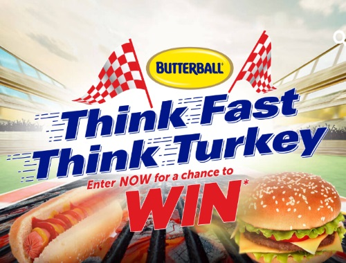 Butterball Think Fast, Think Turkey Contest