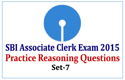 Practice Reasoning Questions for SBI Associate Clerk Exam