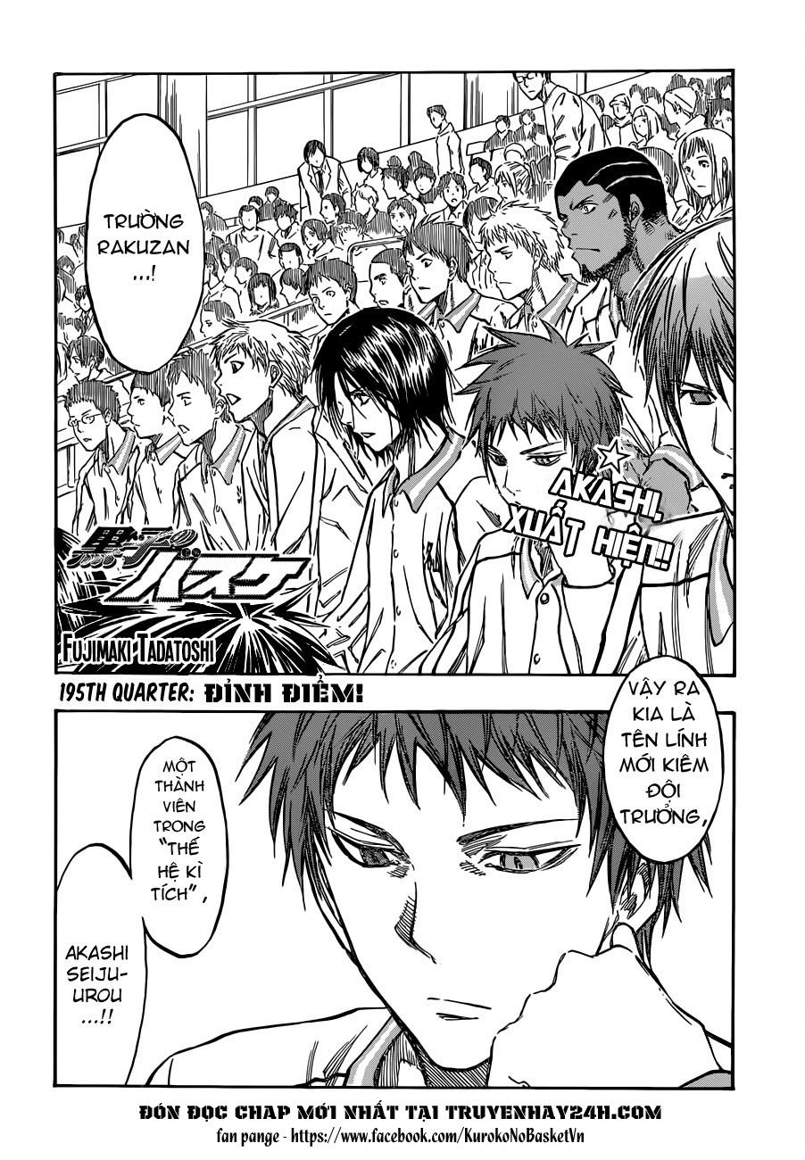 Kuroko No Basket chap 195 trang 2