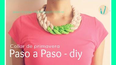 Collar de primavera - DIY