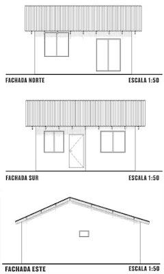 Fachadas de Casa de un Nivel