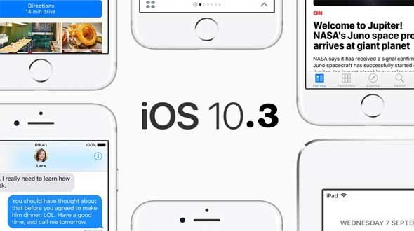 iOS 10.3, iOS 10.3 features