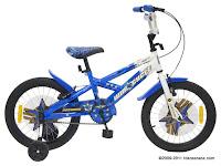 Sepeda Anak Wimcycle Bazooka MY2011 18 Inci