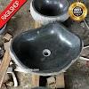 Wastafel batu kali batualam tulungagung diameter 40 cm
